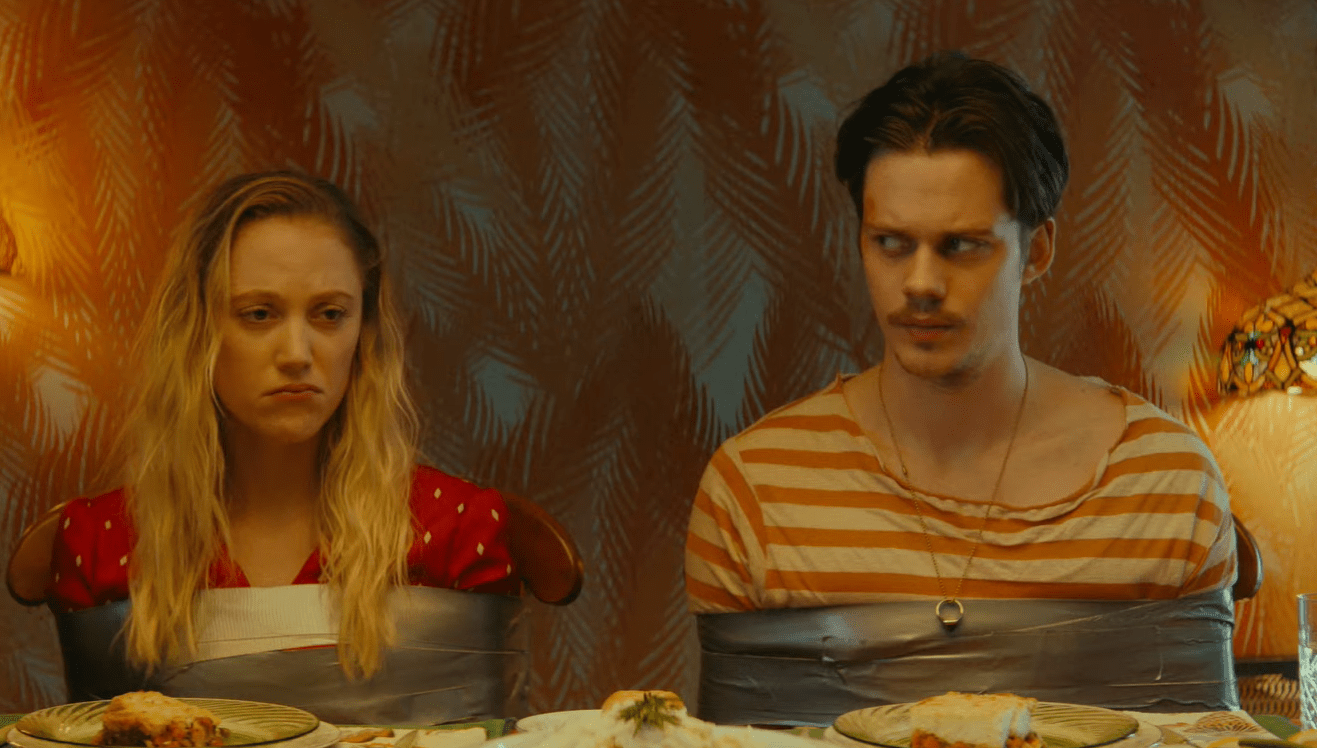 [Trailer] Bill Skarsgård and Maika Monroe Uncover a Dark Secret in 'Villains' - Bloody Disgusting