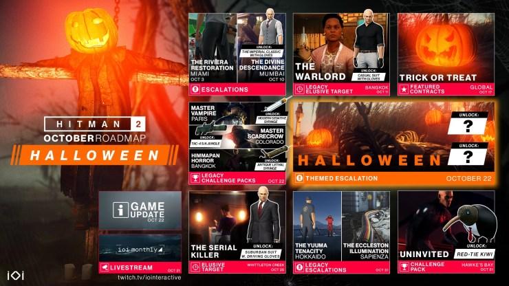 Hitman 2 también se prepara para Halloween con un evento especial