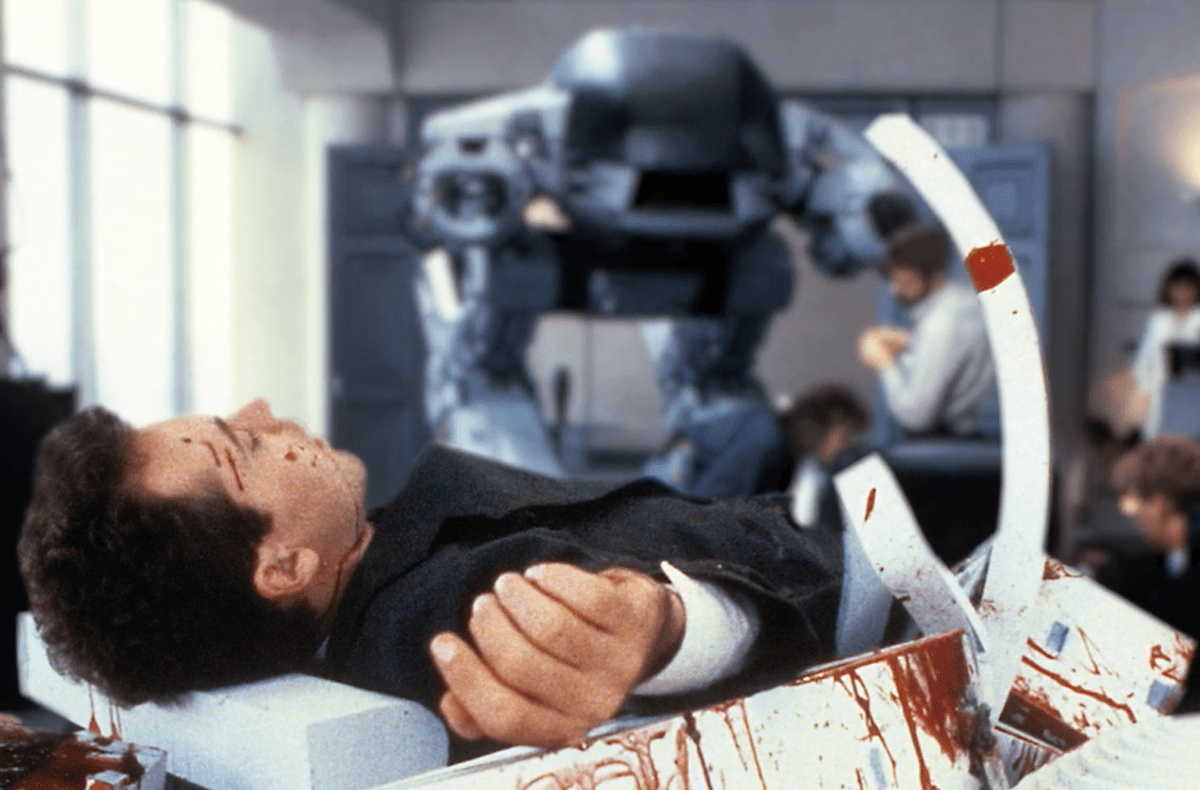 20 Minutes of 'RoboDoc' Footage Recounts 'RoboCop's Ultra Bloody X-Rated Scene - Bloody Disgusting