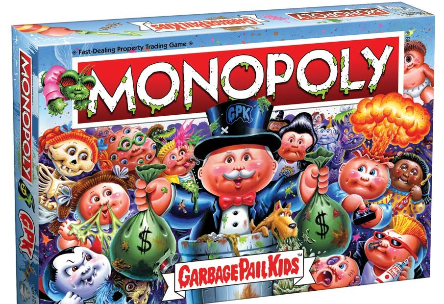 "Go Directly into the Toilet: 35th Anniversary ""Garbage Pail Kids"" Monopoly Game Coming Soon! - Bloody Disgusting"
