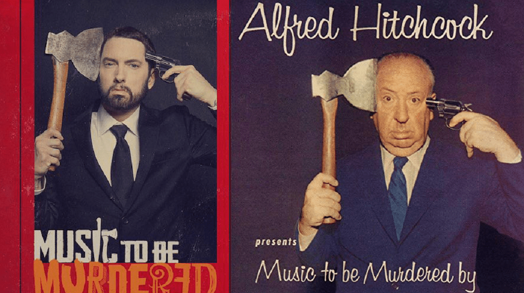 "Eminem Pays Tribute to Alfred Hitchcock With Surprise New Album ""Music to Be Murdered By"" - Bloody Disgusting"
