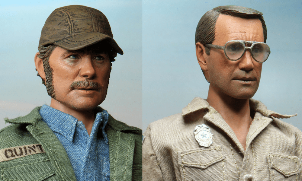 Official Images Show Off NECA's Incredible 'Jaws' Figures; Quint and Brody Will Be Joined By the Shark!