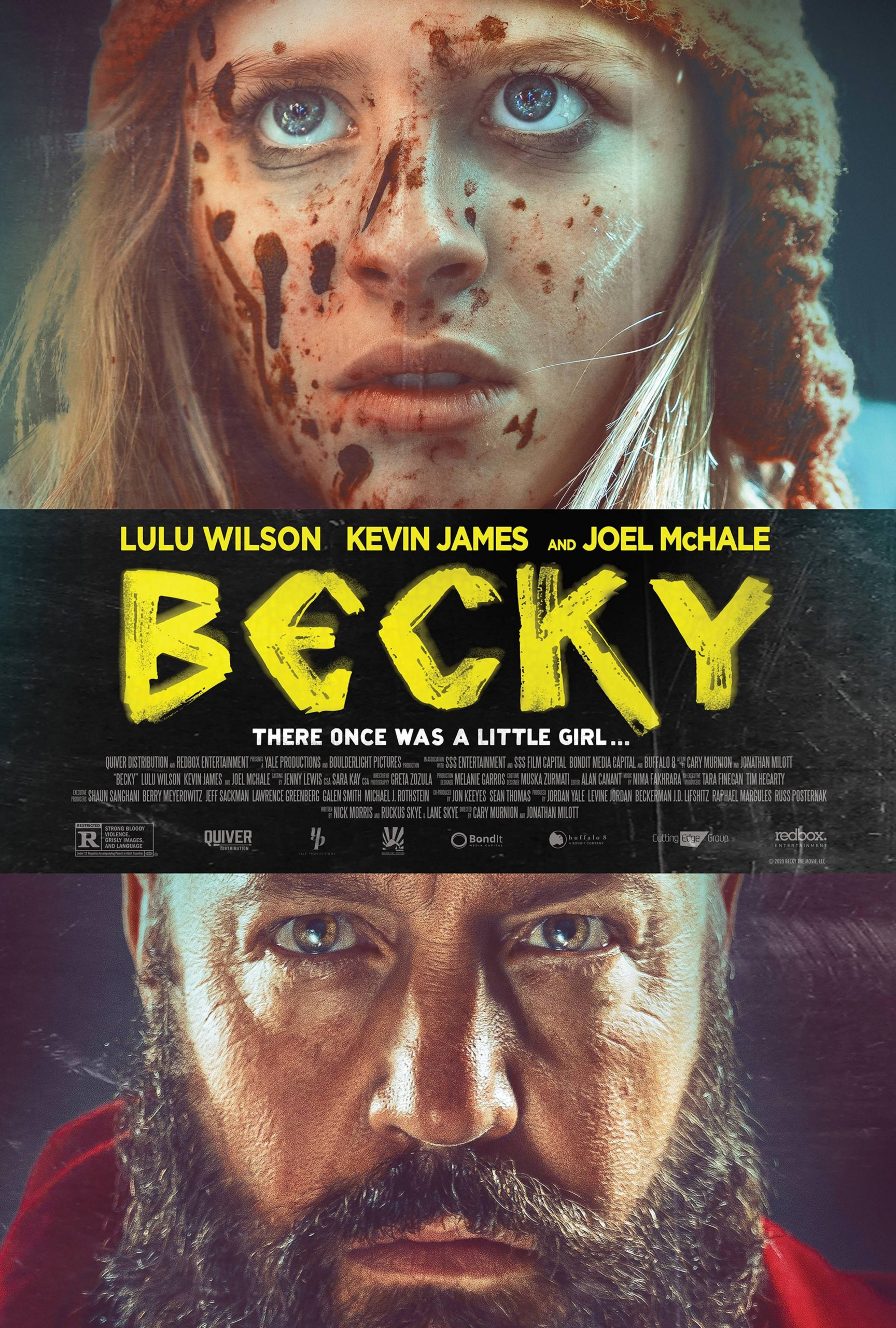 Becky': Bearded Kevin James and Bloodied Lulu Wilson Square Off on ...