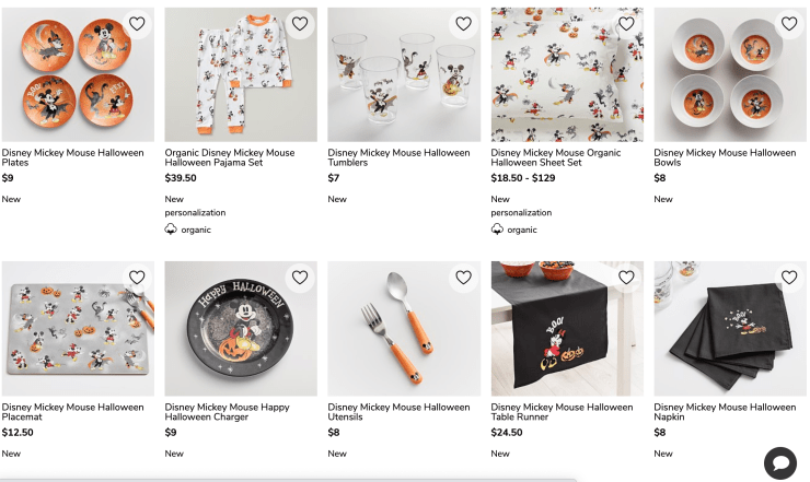 Mouse In Amc Halloween 2020 Pottery Barn Kids Launches Halloween Themed Disney Collection
