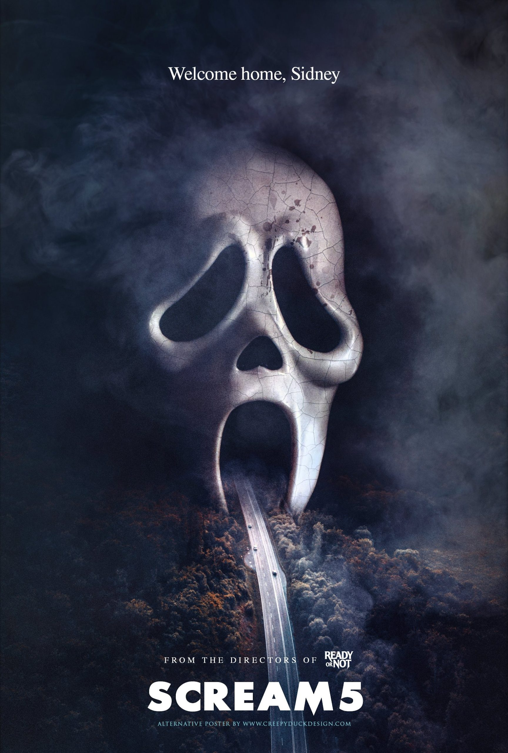 Killer Fan-Made 'Scream 5' Poster Welcomes Sidney Back to Woodsboro - Bloody Disgusting