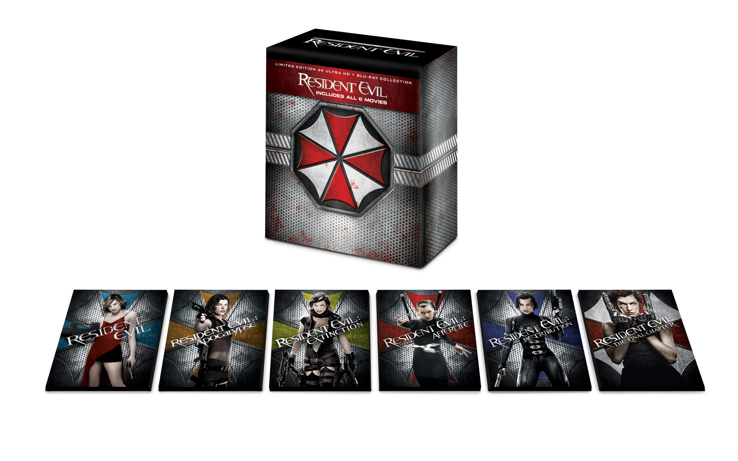 The Entire Resident Evil Film Collection Getting 4k Box Set With