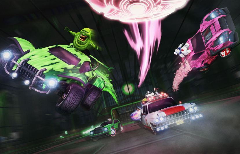 Ghostbusters' Returns to 'Rocket League' in Haunted Hallows Event - Bloody  Disgusting