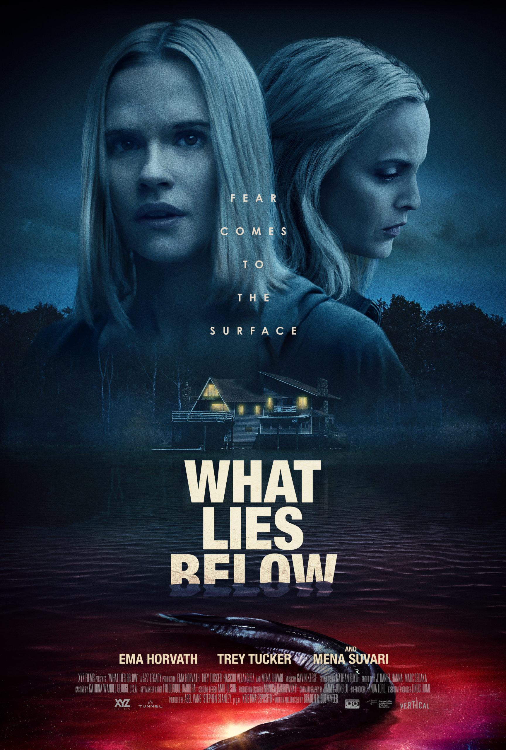 Mena Suvari Faces Aquatic Horrors in 'What Lies Below' This December [Trailer]