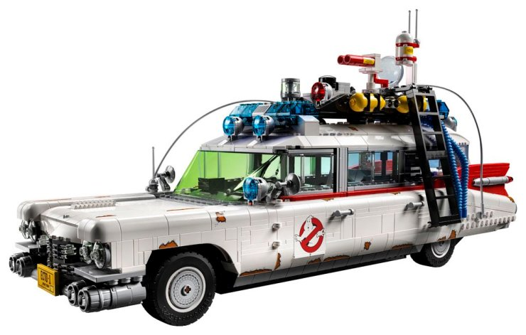 'Ghostbusters': LEGO Reveals Brand New Ecto-1 Vehicle On the Road to 'Ghostbusters: Afterlife'!
