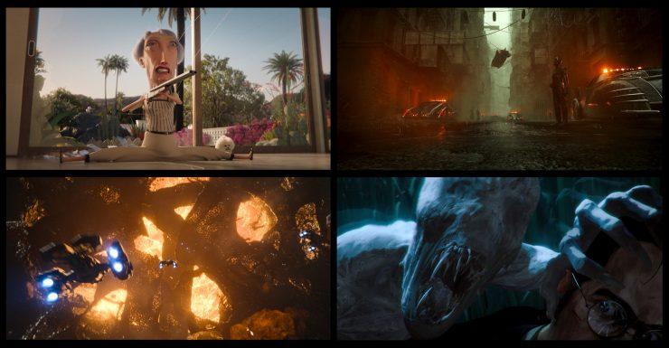 Love Death Robots Season 2 Collage