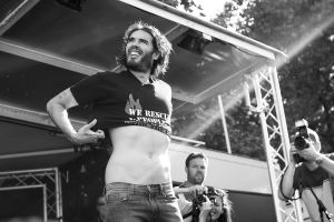 Russell_Brand_Fire_Brigade_Union_Rally