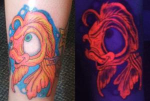 La Tinta Fluorescente O Tinta Uv Bloodyland Tattoo