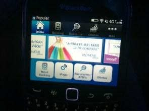 Probando App en una Blackberry