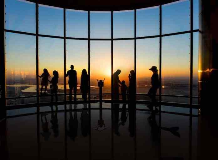 Burj Khalifa sunset Emaar Entertainment
