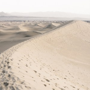 Coloris représentant une dune de sable blanc