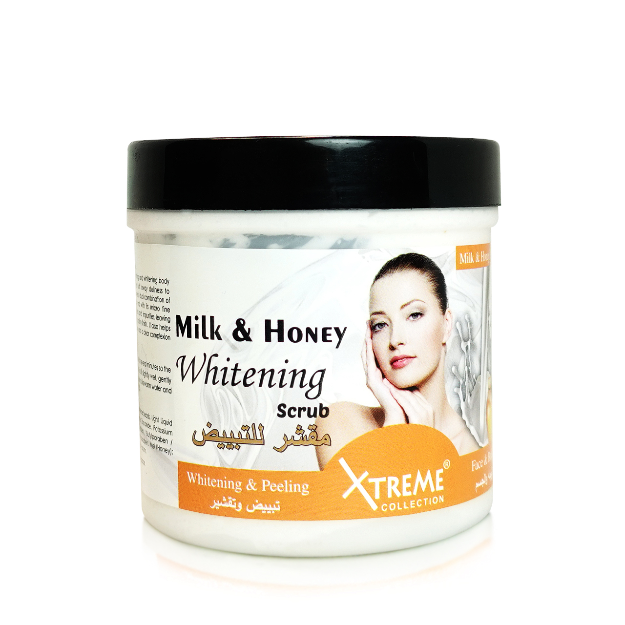 XTREME FACE & BODY WHITENING SCRUB 500ML-MILK & HONEY ...