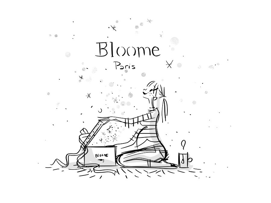 illustration bloome foutrier