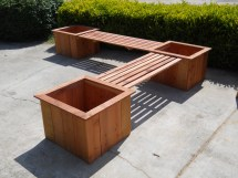 Build Planter With Bench Diy Pdf Wood Filler Uk