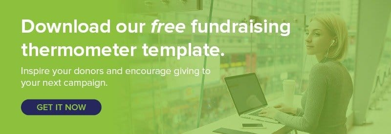 Download your free fundraising thermometer template today!