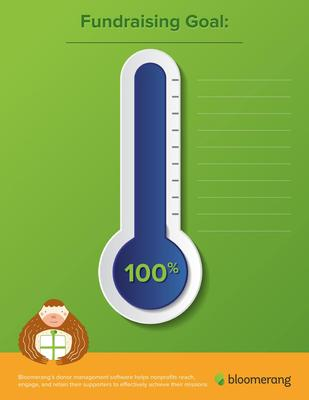 Download your fundraising thermometer today.