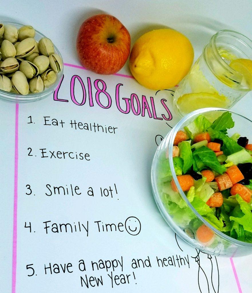 New Year's Resolution Goals