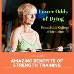 Strength Training lower odds