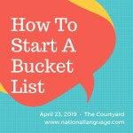 The Ultimate Bucket List Instruction Guide