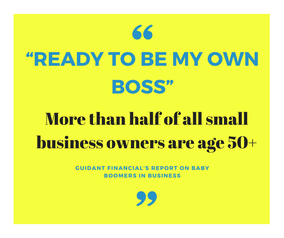 Baby Boomer Small Business