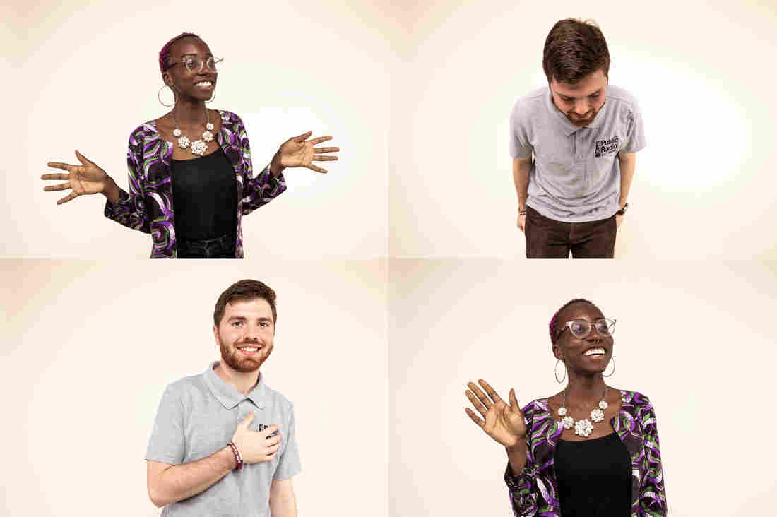 No-Touch Greetings Take Off: People Are Getting Creative About Saying 'Hi'