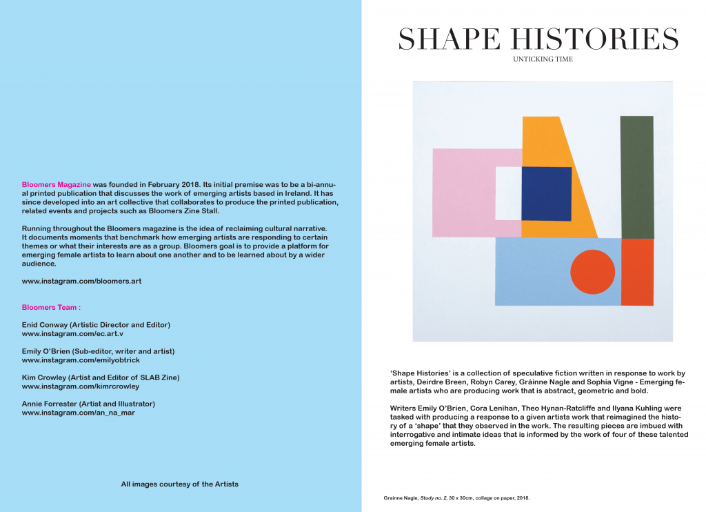 Issue #3 Shape Histories : April 2019