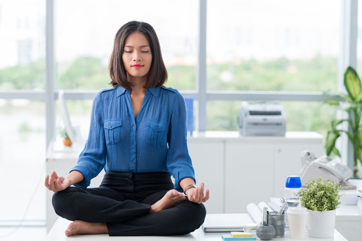 Woman reaching knowledge centered service nirvana