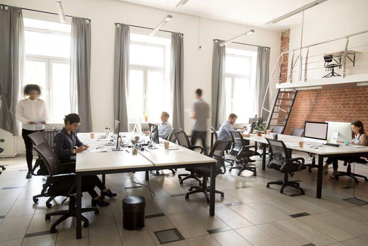 open office democratized knowledge concept
