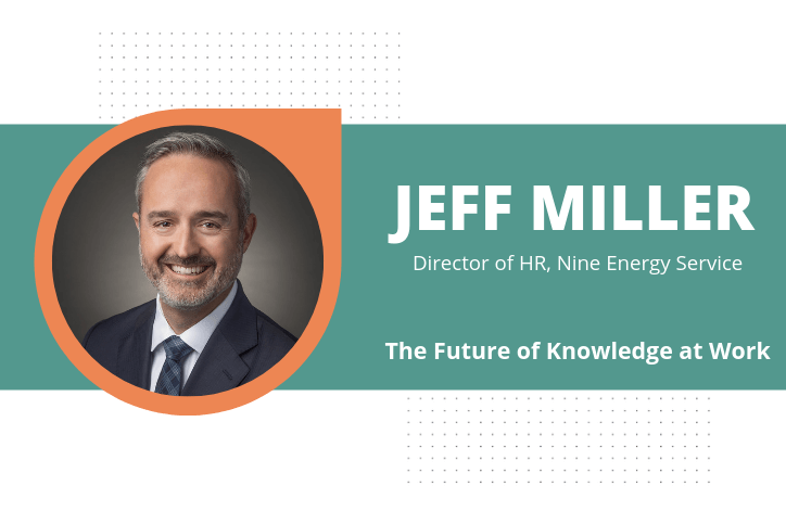 Jeff Miller Future of Knowledge at Work title card