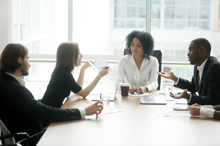 meeting with workplace communication problems