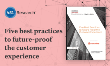 Research Study:  Five Best Practices to Future-Proof the Customer Experience