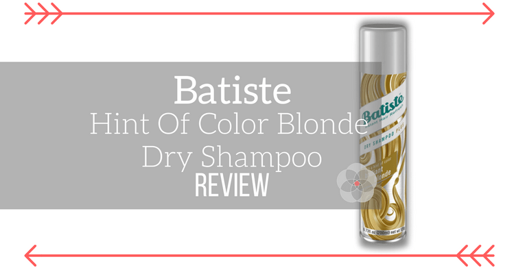 Batiste Hint Of Color Blonde Dry Shampoo