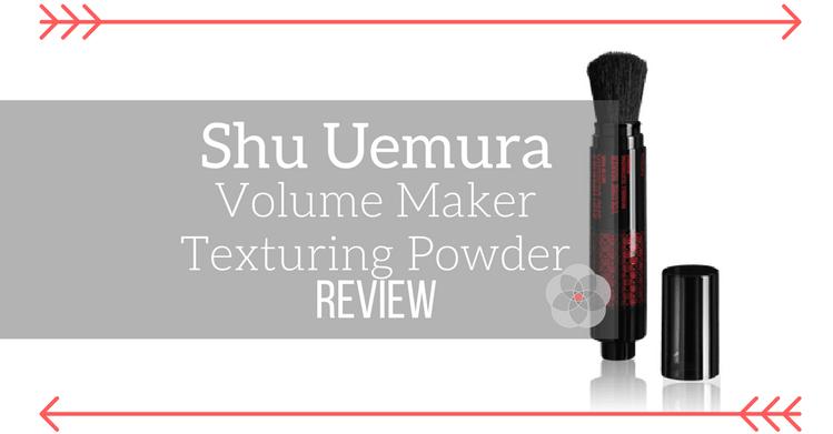Shu Uemura Volume Maker Texturing Powder Dry Shampoo Review