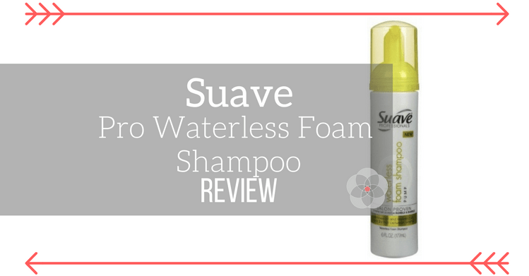 Suave Professionals Waterless Foam Shampoo Review