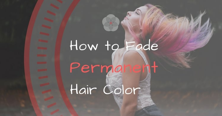 Bad Dye? How to Fade Permanent Hair Color {There's Help