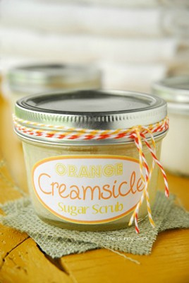 Orange Creamsicle Scrub