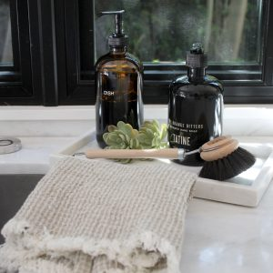 Vera Linen Waffle Hand Towels S/2