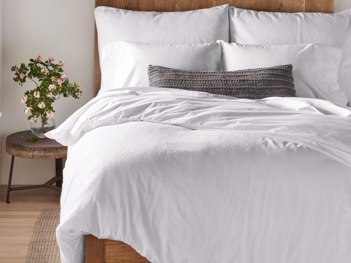 Organic Sateen Duvet Cover and Pillow Sham
