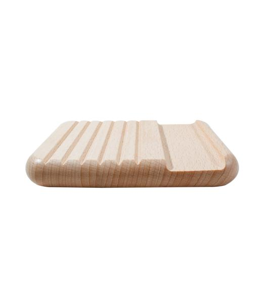 Cheval Beech Wood Nail Brush and Tray