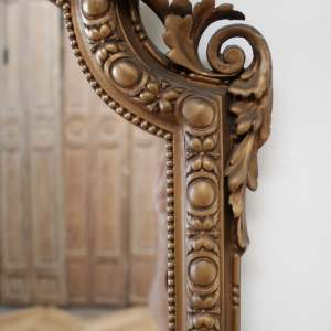 Vintage Neoclassical Style Giltwood Mirror
