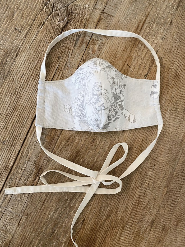 French Toile Mask