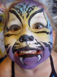 Fushion Art Studios Facepainting