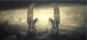 He commands His angels regarding us