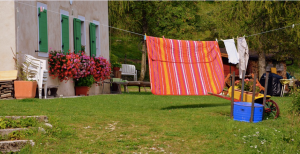 Laundry in the breeze