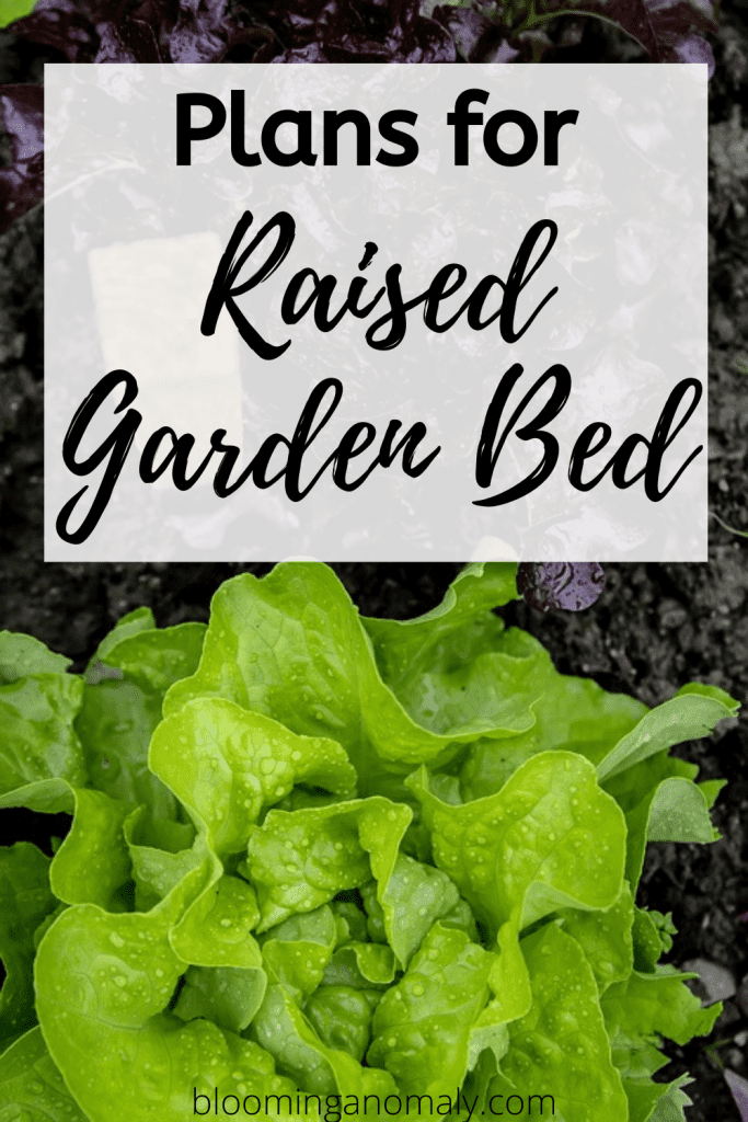 plans for raised garden bed