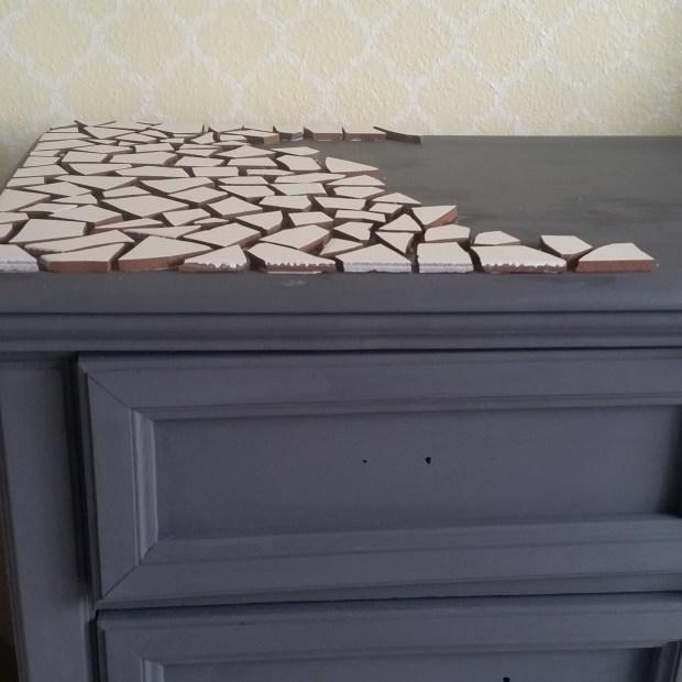 dresser-mosaic-tile-yellow-wall